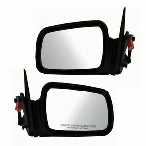 Heated Power Side Mirrors Pair Set Left Right For 93 95 Jeep Grand Cherokee