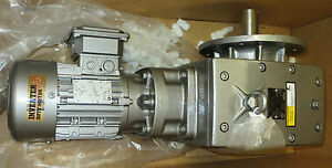 Nord Nm 32711002 0703 Motor With Gearbox 50 Hp 1720 Rpm