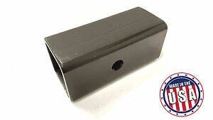 Usa Made 2 5 To 2 Ball Mount Receiver Hitch Adapter Sleeve Truck Trailer