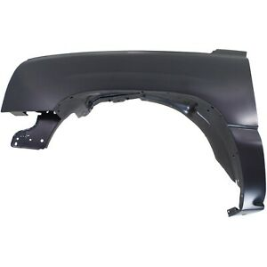 Fender For 2003 2006 Chevrolet Silverado 1500 Front Left Side Primed Steel Capa