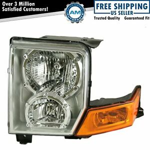 Headlight Headlamp Driver Side Left Lh New For 06 10 Jeep Commander