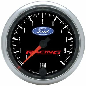 Ford Racing Autometer 3 3 8 In Dash 0 10000 Rpm Tachometer 880084