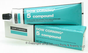 Dow Corning 5 Dielectric Silicone Compound Grease Lubricant 5 3oz 150g Tube
