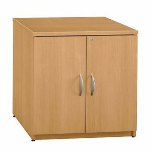 Bush Series C 30 w Storage Cabinet light Oak Wc60396a