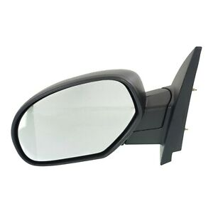 Manual Side View Mirror Textured Driver Left Lh For Chevy Gmc Pickup Truck