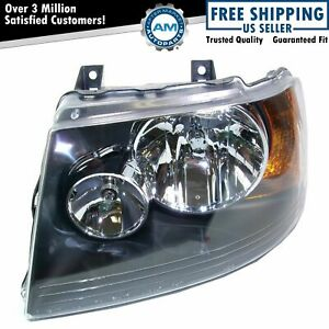 Headlight Headlamp W Black Bezel Left Driver Side For 03 06 Ford Expedition