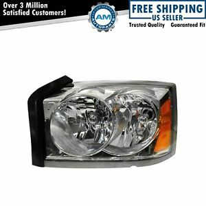 Headlight Headlamp Driver Side Left Lh For 05 07 Dodge Dakota Pickup Truck