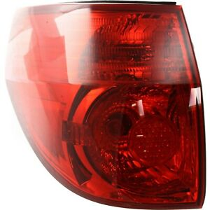 Tail Light For 2006 2010 Toyota Sienna Lh Outer