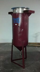12008 025 60 Gallon Stainless Steel Vertical Tank