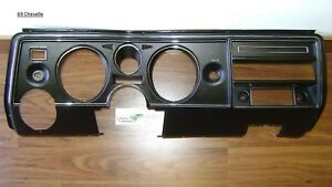 Chevelle 69 Dash Housing Carrier Panel Non Ac New Tooling Malibu El Camino Bezel