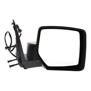 Power Mirror For 2008 2012 Jeep Liberty Passenger Side Heated Textured Black