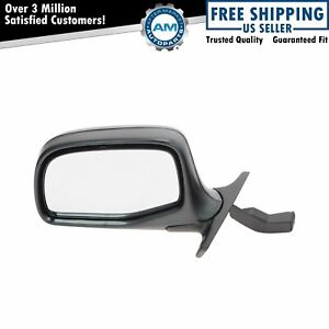 Chrome Manual Side View Door Mirror Driver Left Lh For Ford Pickup Truck Bronco