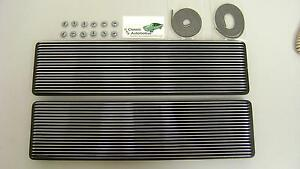 Camaro 67 Ss Super Sport Hood Louvers Kit 16pc With Gaskets Nuts Ornaments