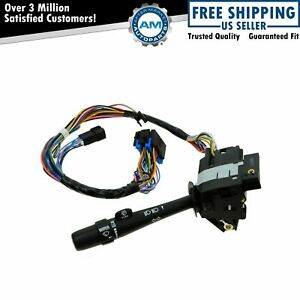 Turn Signal Windshield Wiper Arm Lever Arm Switch For 00 05 Impala Monte Carlo