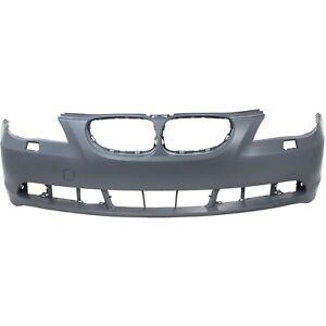 Bumper Cover For 2004 2007 Bmw 530i Sedan Wagon Primed Front