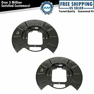 Dorman Rear Disc Brake Backing Plates Pair Of 2 For 99 04 Jeep Grand Cherokee