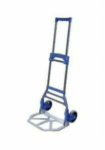 Portable Folding Hand Truck Dolly Utility Cart 110 Lb Load Capacity Ct htf110