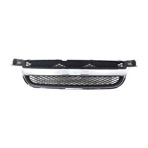 Grille Grill Chrome Black Assembly For 07 11 Chevy Aveo Sedan