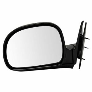 Side View Manual Mirror Driver Left Lh For Blazer Jimmy S10 Pickup Truck