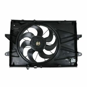 Radiator Cooling Fan Assembly New For 10 12 Chevy Equinox Gmc Terrain 2 4l