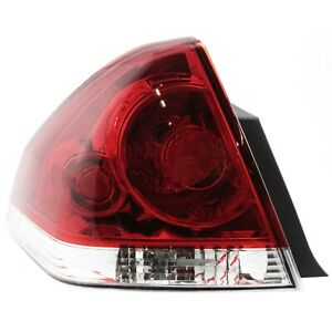 Tail Light For 2006 2013 Chevrolet Impala 2014 2016 Impala Limited Driver Side