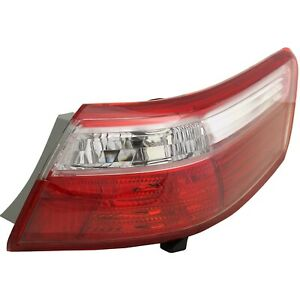Tail Light For 07 09 Toyota Camry Passenger Side Outer Body Mounted
