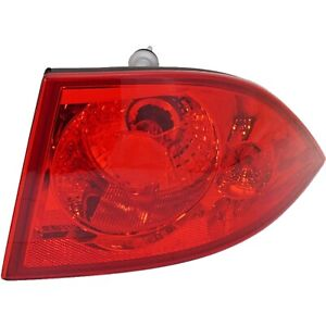 Tail Light For 2006 2011 Buick Lucerne Rh Outer