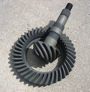 Gm 8 2 Bop 10 Bolt Ring Pinion Gears 3 55 Ratio New Rearend Axle 355