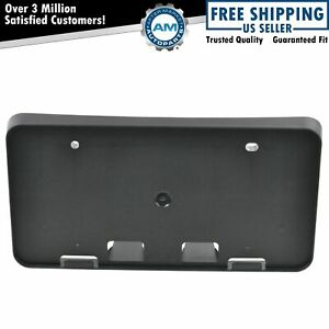 Front Bumper License Plate Backing Bracket New For Toyota Camry