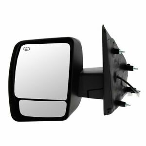 Mirror Power Heated Chrome Driver Side Left For 12 13 Nissan Nv 1500 2500 3500