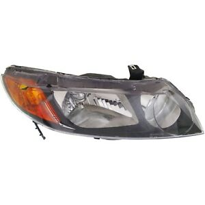 Headlight For 2006 2007 2008 Honda Civic Dx Ex Gx Lx Models Sedan Right