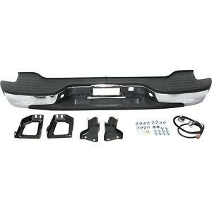 Step Bumper For 2002 2006 Chevrolet Avalanche 1500 00 06 Tahoe Chrome Steel