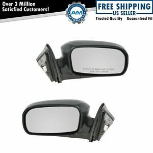 Power Side Mirror Pair Set For 03 05 Civic Hybrid Sedan