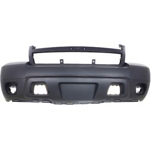 Bumper Cover For 2007 2014 Chevrolet Tahoe Front Plastic Paint To Match Capa