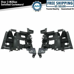 Headlight Mounting Panel Bracket Pair Set For Escalade Ext
