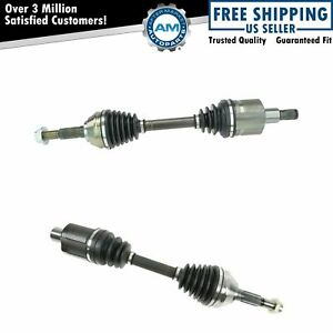 Cv Joint Axle Shaft Front Pair Set For S10 Pickup Truck Blazer S15 Jimmy Zr2 New