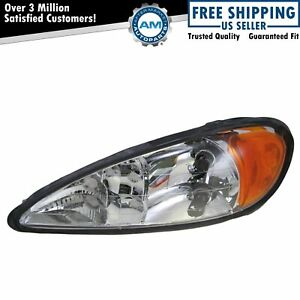 Headlight Headlamp Driver Side Left Lh New For 99 05 Pontiac Grand Am