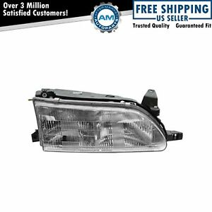 Headlight Headlamp Passenger Side Right Rh New For 93 97 Toyota Corolla
