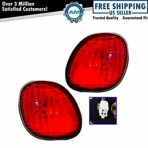 Taillights Taillamps Trunk Mounted Rear Brake Lights Pair Set New For Lexus Gs