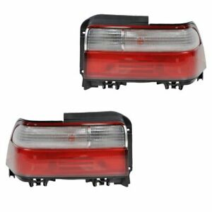 Taillight Taillamp Pair For Toyota Corolla Sedan 1996 1997