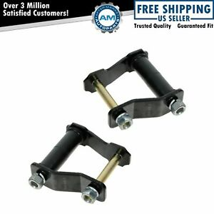 Rear Leaf Spring Shackle Kit L R Pair Set For 95 00 Tacoma 4wd 2wd Double Cab