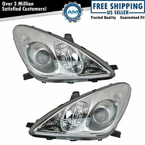 Hid Xenon Front Headlights Headlamps Lights Lamps Pair Set For 04 06 Lexus Es330