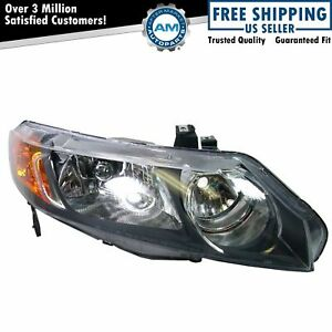 Headlight Headlamp Passenger Side Right Rh For 06 08 Honda Civic 4 Door Sedan