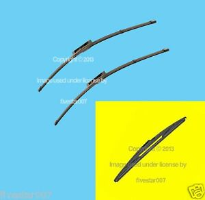 2 Oem Front 1 Rear Hatch Windshield Wiper Blade Set Kit For Saab 9 5 08 09