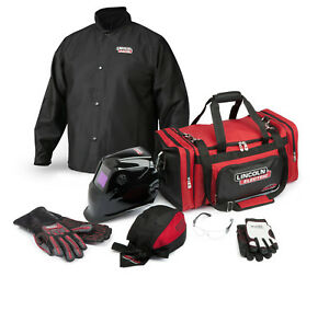 Lincoln Traditional Welding Gear Ready pak K3105 Size Large
