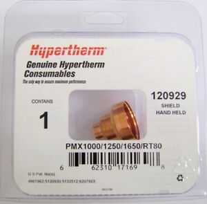 Hypertherm Genuine Powermax 1000 1250 1650 Shield 40 80a 120929