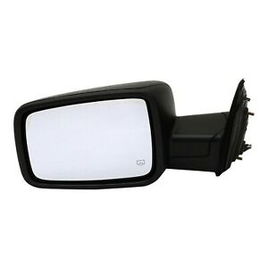 Mirror For 2009 2010 Dodge Ram 1500 Manual Folding Textured Black Front Left