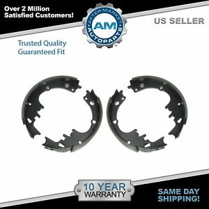 Nakamoto Rear Drum Brake Shoes For Chevy Pontiac Gmc Olds Buick