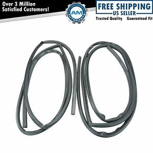 Door Weatherstrip Pair Set Of 2 New For 67 72 Chevy Gmc Trucks