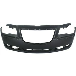 Bumper Cover For 2011 2014 Chrysler 300 With Adaptive Cruise Control Front